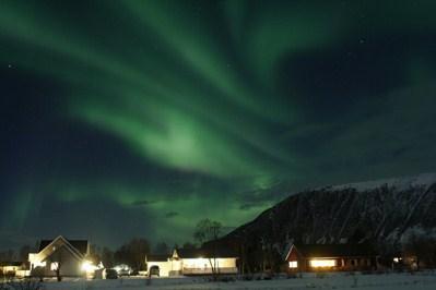 Polarlightcenter Laukvik in Lofoten maximize your chance to